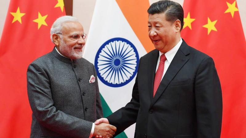 Prime Minister Narendra Modi and China President Xi Jinping (Photo: Twitter/@narendramodi)