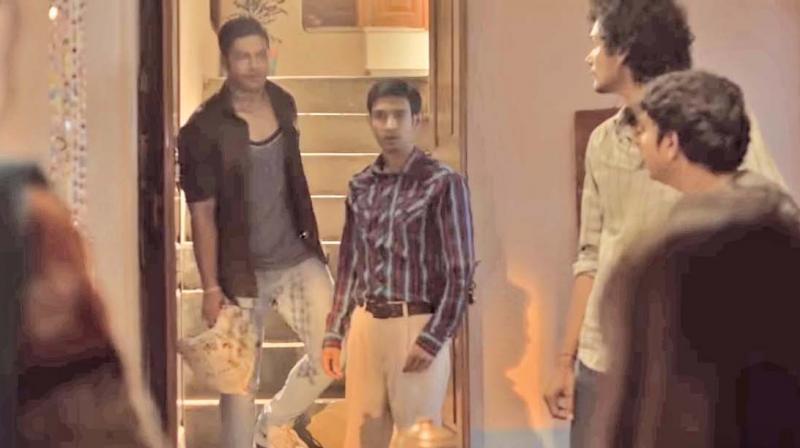 A still from the trailer of the web series Mirzapur
