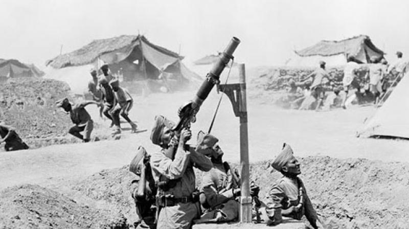 India's role in the War was significant — over 1.4 million Indian servicemen fought in theatres across Europe, the Middle East and East Africa, making the Indian contribution the largest non-British contingent in the British armies. (Photo: AFP/Representational)