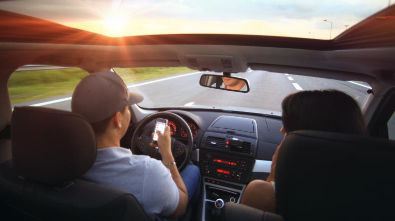 If parents drive recklessly, speed, text while on the road, or fail to buckle up, teens will probably follow suit. (Representative Image: Pexels)