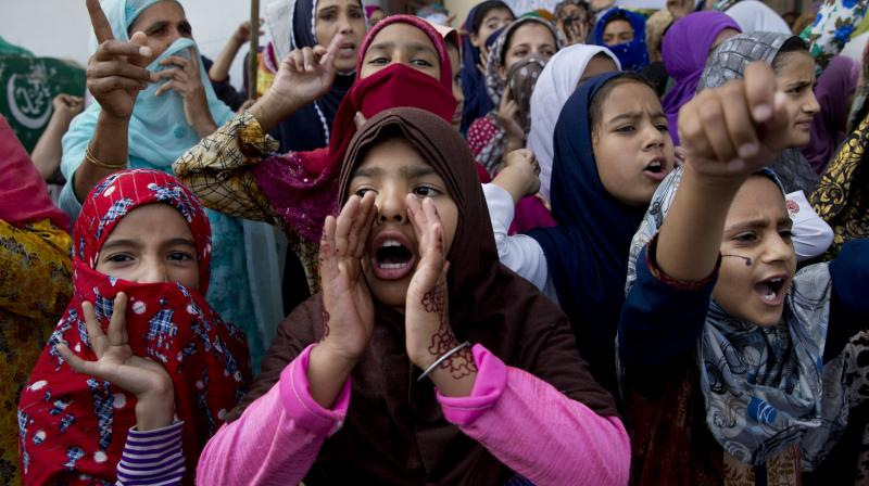 Critics say that on August 5 last year, the government ventured on the path of disowning and un-winning Kashmir. PTI Photo