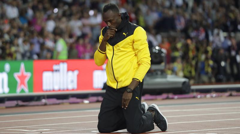 Bolt insisted that there would be no comeback.