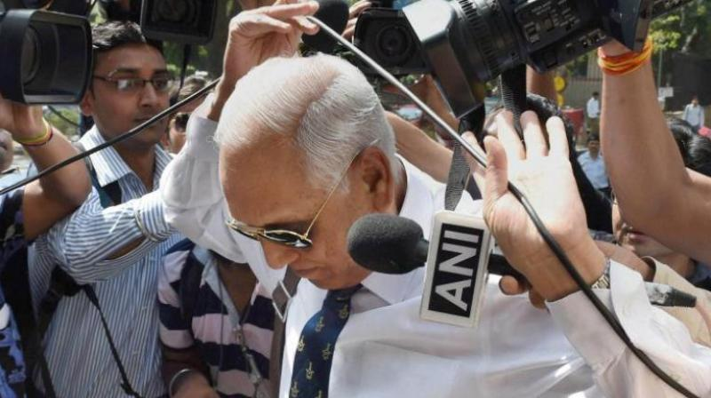 Former IAF chief S P Tyagi (Photo: PTI)