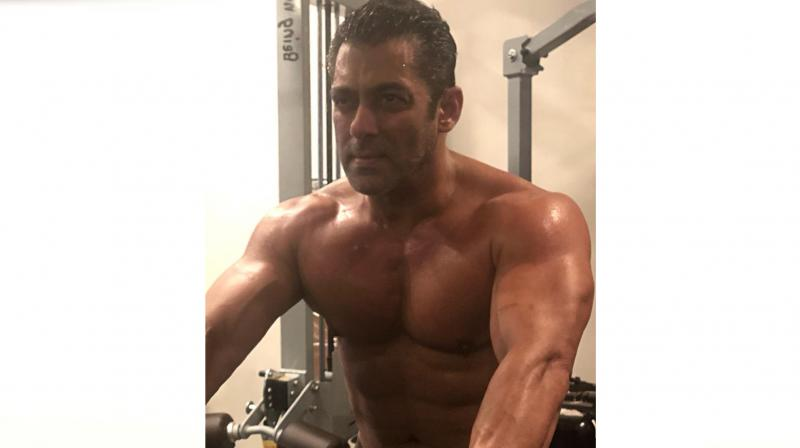 Salman Khan shares powerful workout message with new shirtless picture