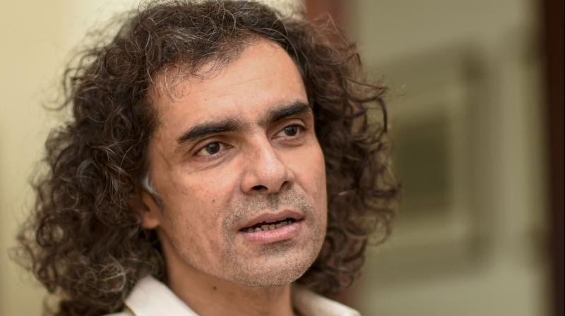 Bollywood film-maker Imtiaz Ali during an interview in New Delhi on February 12, 2020. (PTI Photo)