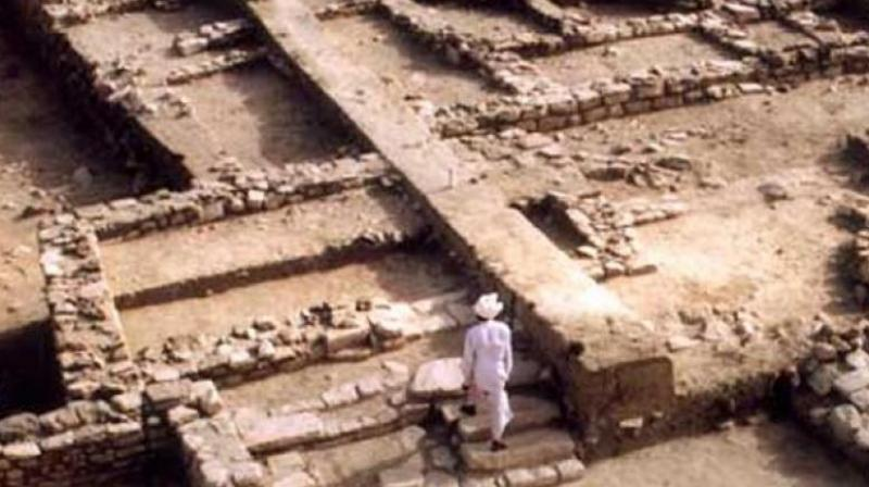 In fact even the British officers who first examined the remains at Harappa did not fully understand what they were and many of the first-rate bricks that were found there were used to build the railways.