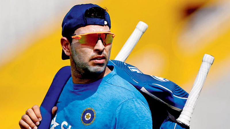 Yuvraj Singh (Photo: AFP)