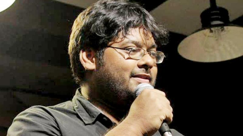 Stand-up comedian Sourav Ghosh