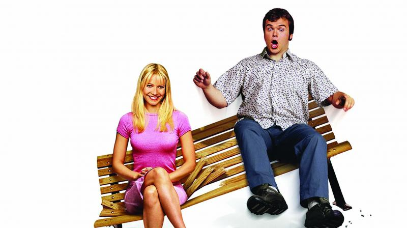 A still from Shallow Hal.