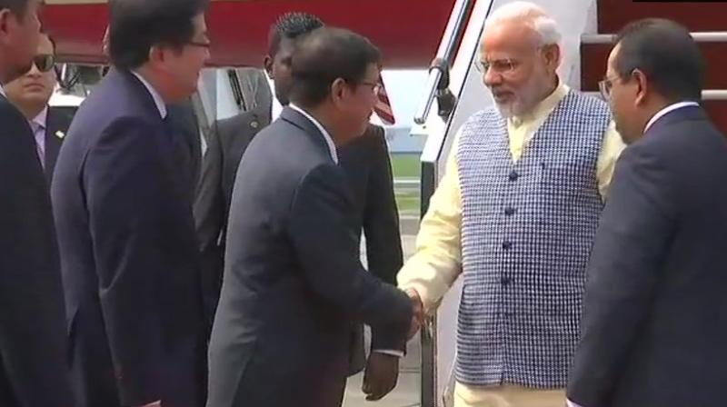 Modi and Mahathir are expected to deliberate on ways to deepen bilateral relationship in a range of areas, including trade and investment. (Photo: ANI | Twitter)