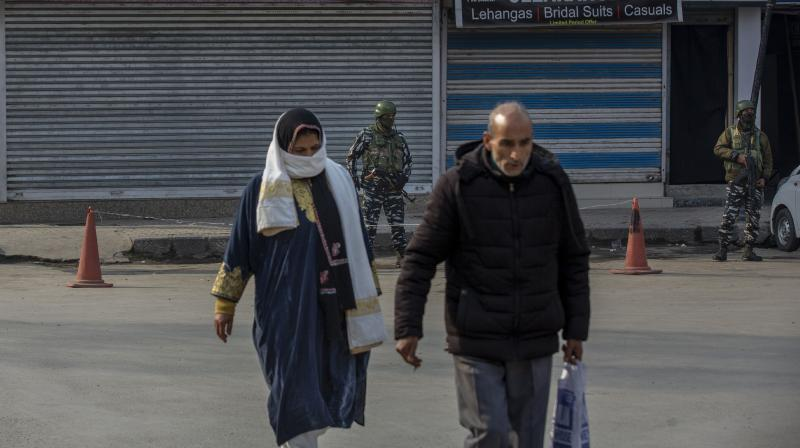 Assessing the situation in J&K and predicting anything for the period beyond has to take into consideration a number of domains. Each of these can be a spoiler, while success is only gained by the cumulative whole achieved by them (Representational Image:AP)