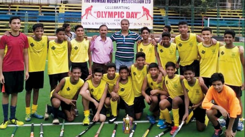 The Bandra school brought another trophy to their cabinet after beating old rivals Don Bosco 2-1 in the inter-school finals organised by Mumbai Hockey Association Limited.
