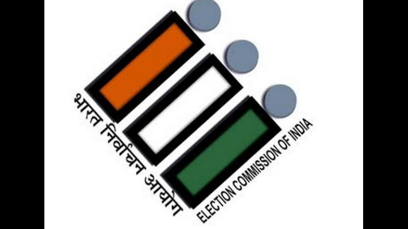 On March 15, Congress had approached the EC with a complaint against the BJP, saying it has put up hoardings of Prime Minister Modi at petrol pumps, railways stations and, airports even though the Model Code of Conduct is in force. (Photo: ANI)