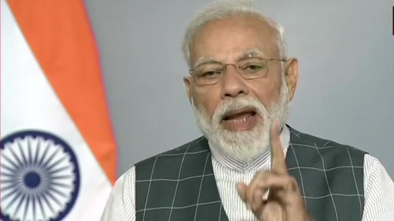 'India has entered the super league of space powers by doing this,' the Prime Minister said in his public address to the nation. (Photo: ANI | Twitter)