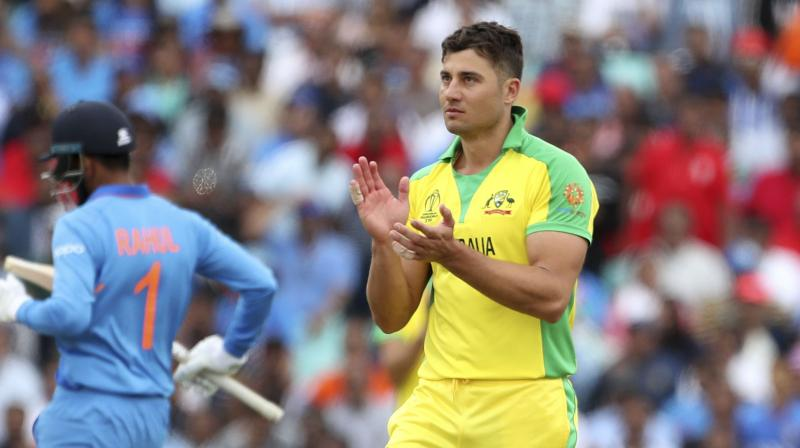 Stoinis picked up a left side strain during Australia's match against India on June 9 and due to the injury, he missed the next two matches for his side. (Photo: AP)