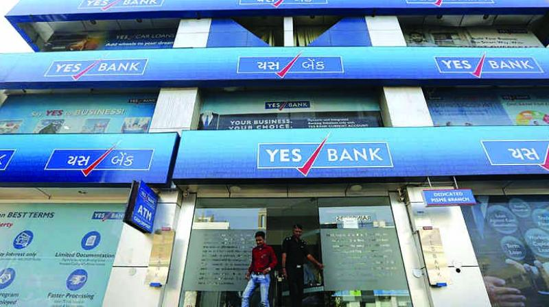 Shares of Yes Bank jumped 35 per cent before closing with gains of 24 per cent after the lender informed the exchanges that it has received a $1.2 billion binding offer (around Rs 8500 crore) from a global investor. The bank is yet to consider the offer, it said.