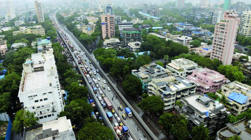 File picture of the Sion flyover.