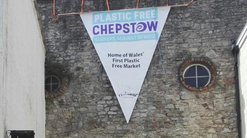 The town's achievement came after four months of preparation and campaigning by the group Plastic Free Chepstow. (Photo: Facebook Screengrab/ Plastic-Free Chepstow)