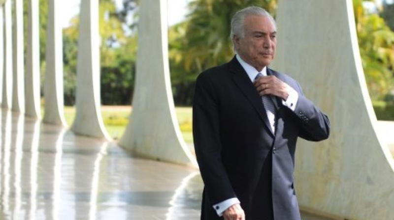 Brazilian President Michel Temer. (Photo: AFP)
