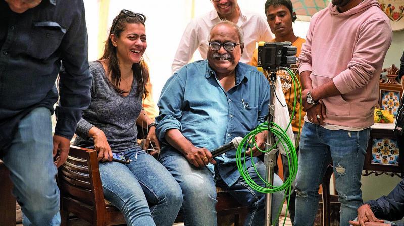 Kajol in Yash Raj Studios