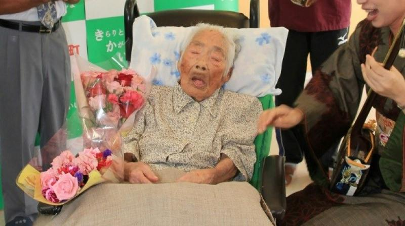 Japan is known for the longevity of its people and has been home to several oldest title holders. (Photo: AFP)