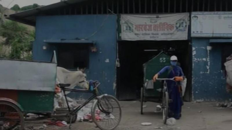 The initiative, however, drew harsh criticism from opposition parties, who claimed that the city is already clean and rag pickers will not get plastic anywhere in the city to get free food. (Photo: ANI)