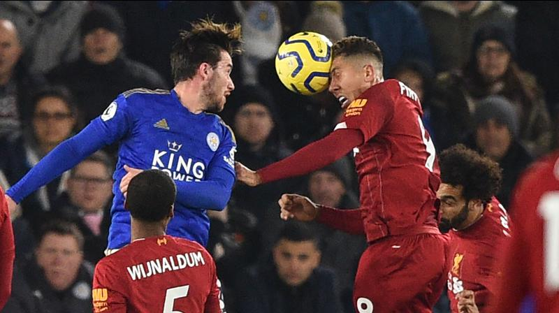 Rampant Liverpool moved 13 points clear at the top of the Premier League after Roberto Firmino struck twice in an emphatic 4-0 win at second-placed Leicester City. (Photo:AFP)