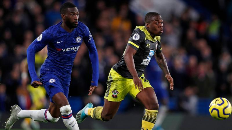 Goals from Michael Obafemi and Nathan Redmond earned Southampton a surprise 2-0 win at Chelsea in the Premier League on Thursday. (Photo:AFP)