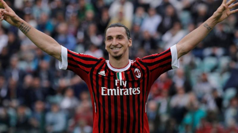 Sweden star Zlatan Ibrahimovic has reached agreement to join AC Milan on an initial six-month contract, according to multiple reports in Italy on Thursday. (Photo:AP)