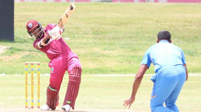 Both teams will now face each other in the fifth and final ODI on July 21 with India holding an unassailable 4-1 lead in the series. (Photo: Windies Cricket/Twitter)