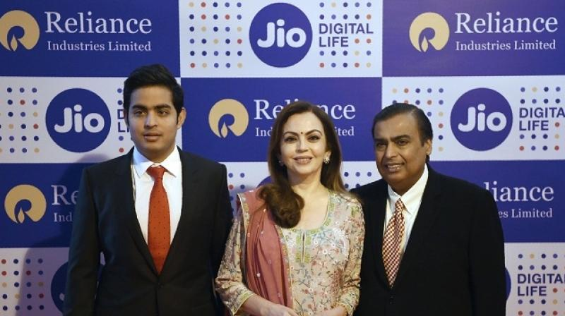 With hopes of taking India to the top five countries in the world in broadband connectivity, network operator Jio has completed two years since its introduction in the market in 2016. (Photo: AFP)