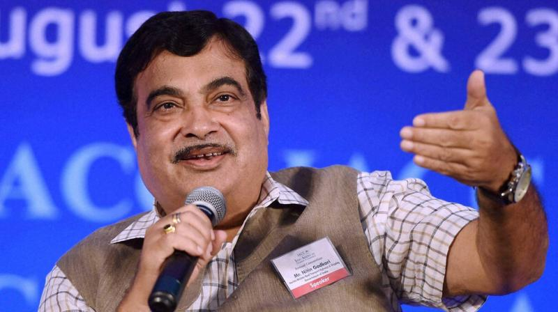 Nitin Gadkari said, switching to ethanol, methanol, bio-fuel and CNG will cut down dependence on petroleum and reduce the prices of petrol and diesel. (Photo: File | PTI)