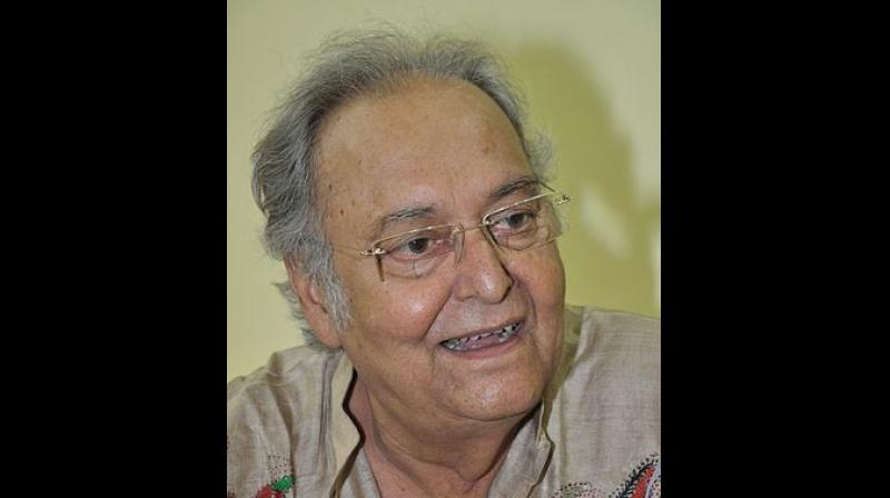 Iconic Bengali actor Soumitra Chatterjee