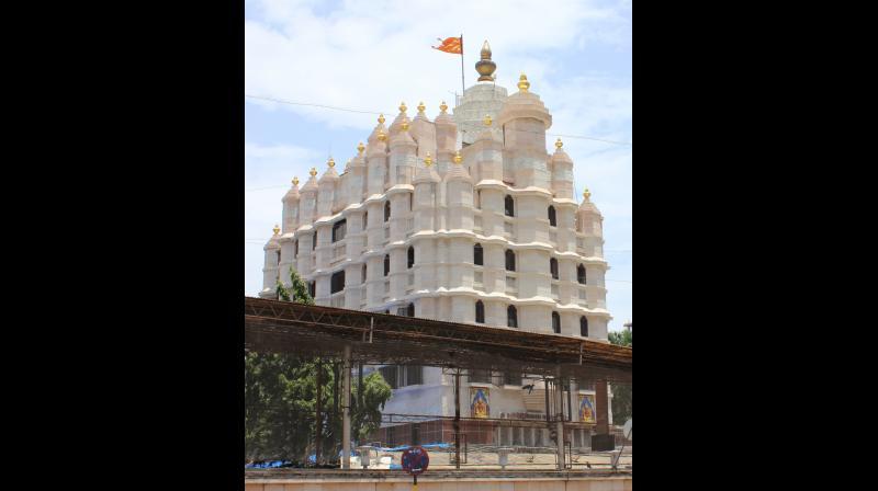 The Siddhivinayak temple.