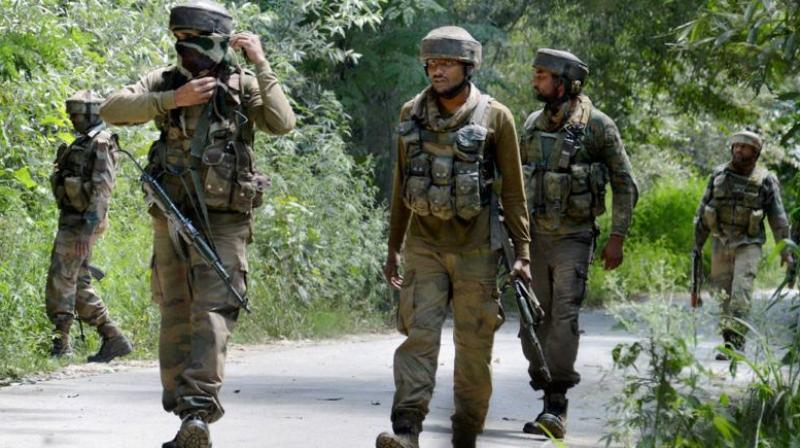 An Indian Army jawan was killed during a ceasefire violation by Pakistan in Sunderbani sector. (Photo: Representational)