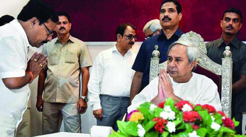 Odisha CM and BJD president Naveen Patnaik is challenging the BJP.
