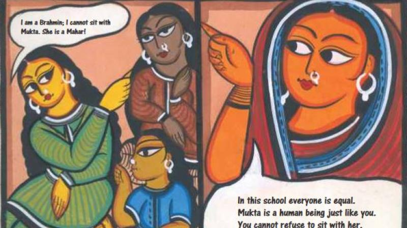 Savitribai Phule and Jyotirao Phule played a huge role in the social reform of Maharashtra and the education of underprivileged people during a period when Brahmins forbade lower castes, especially Dalits, from being educated.