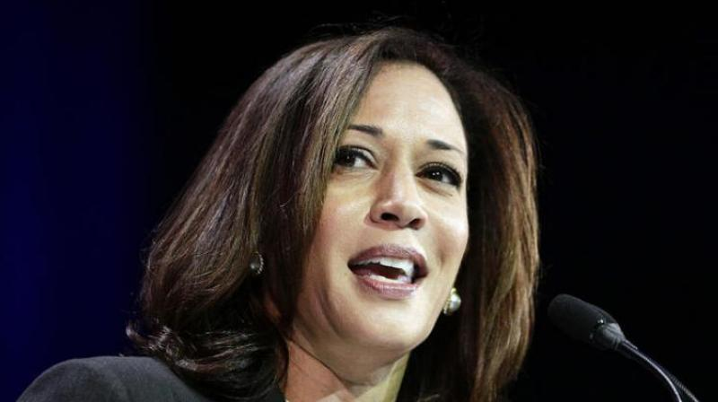Within the first 12 hours alone, Harris' campaign registered USD 1 million in funding, and the average donation was around USD 37. (File Photo)