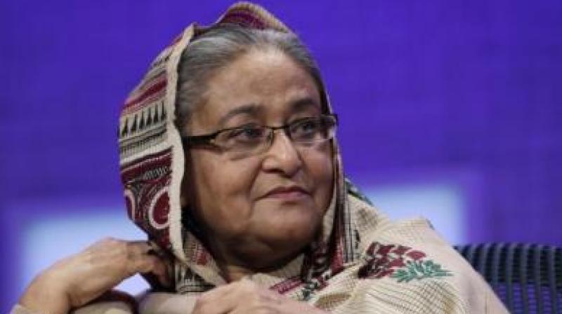 Bangladesh Prime Minister Sheikh Hasina. (Photo: AP)