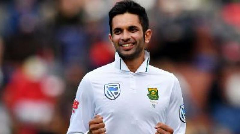 Ahead of the three-match Test series against India, South Africa spinner Keshav Maharaj hopes to seek inspiration from Ravichandran Ashwin and Ravindra Jadeja to showcase consistency for his team. (Photo:AFP)