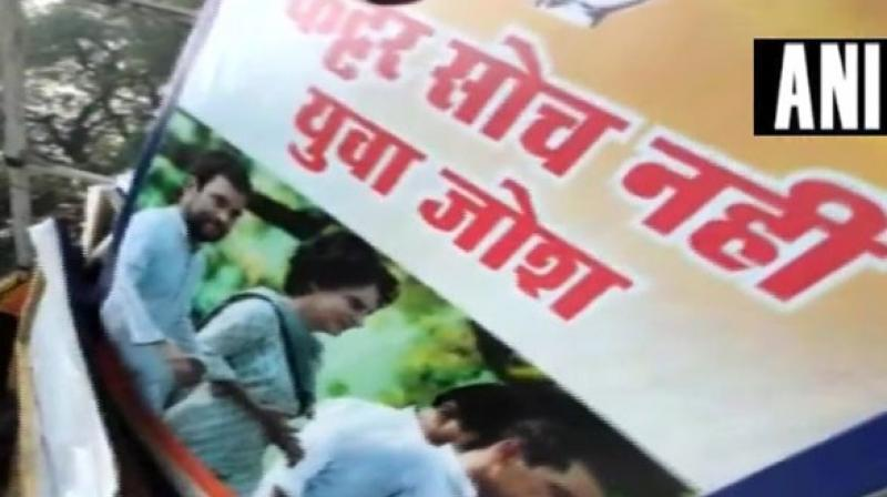 BJP leader Sambit Patra said the posters that had come up were of criminals. (Photo: ANI)