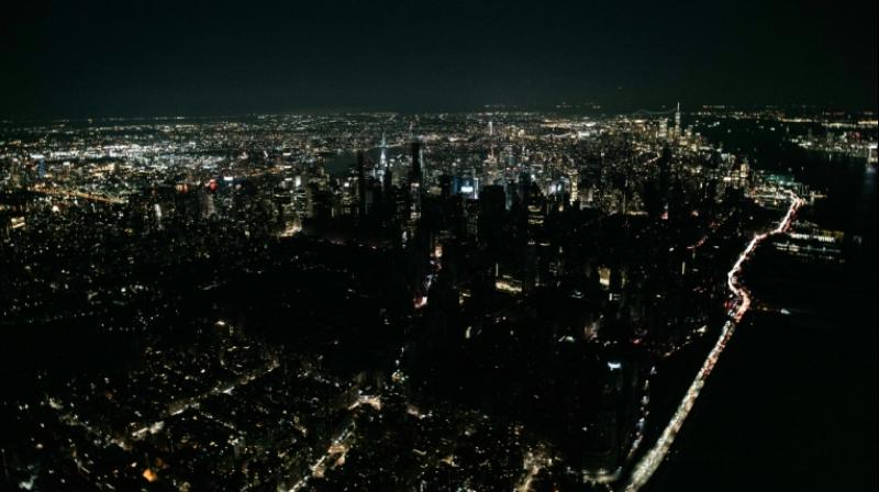 About 42,000 customers lost electricity in the early evening, according to the Con Edison utility. (Photo: AFP)
