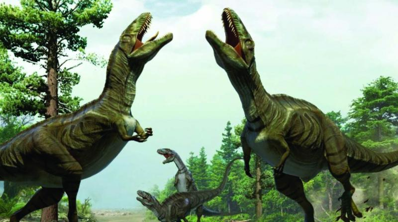 The study suggests  dinosaurs arose 247 million years ago in the northern hemisphere, and not in the south.