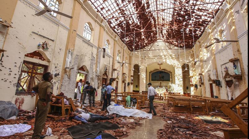 The Lankan government announced that all the damaged churches will be completely repaired by the government. (Photo: AP | File)