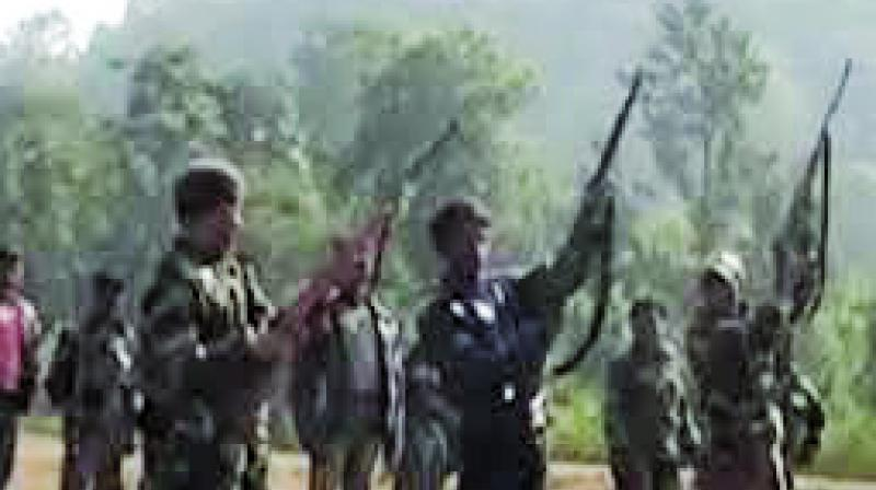 Troops of the 209 CoBRA special ops recovered the body of the Naxal along with one Heckler and Koch 33 assault rifle. (Photo: Representational Image)