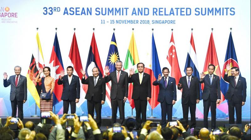 ASEAN, 8 other countries call for strengthening regional supply chains. (Representative Image- AFP)