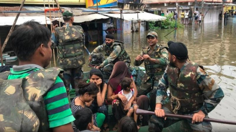 Army has been called in to rescue people in the marooned areas in Madhya Pradesh's Hosangabad district following flash floods. (Representative Image)