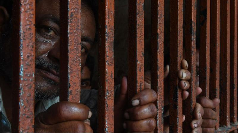 Indian jails remained overcrowded and under-staffed in 2019, says NCRB data. (AFP Photo)
