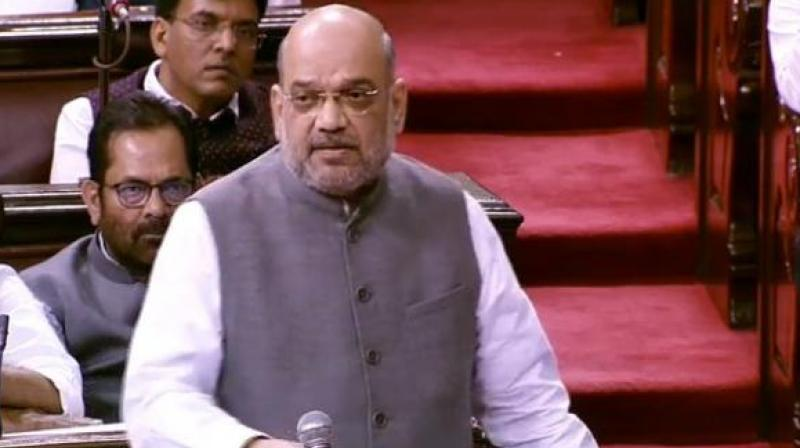 Union home minister Amit Shah (Photo: ANI)