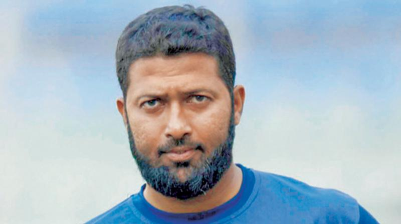 MAN WITH A DOUBLE HUNDRED IN THE WEST INDIES: Wasim Jaffer. DC Photo